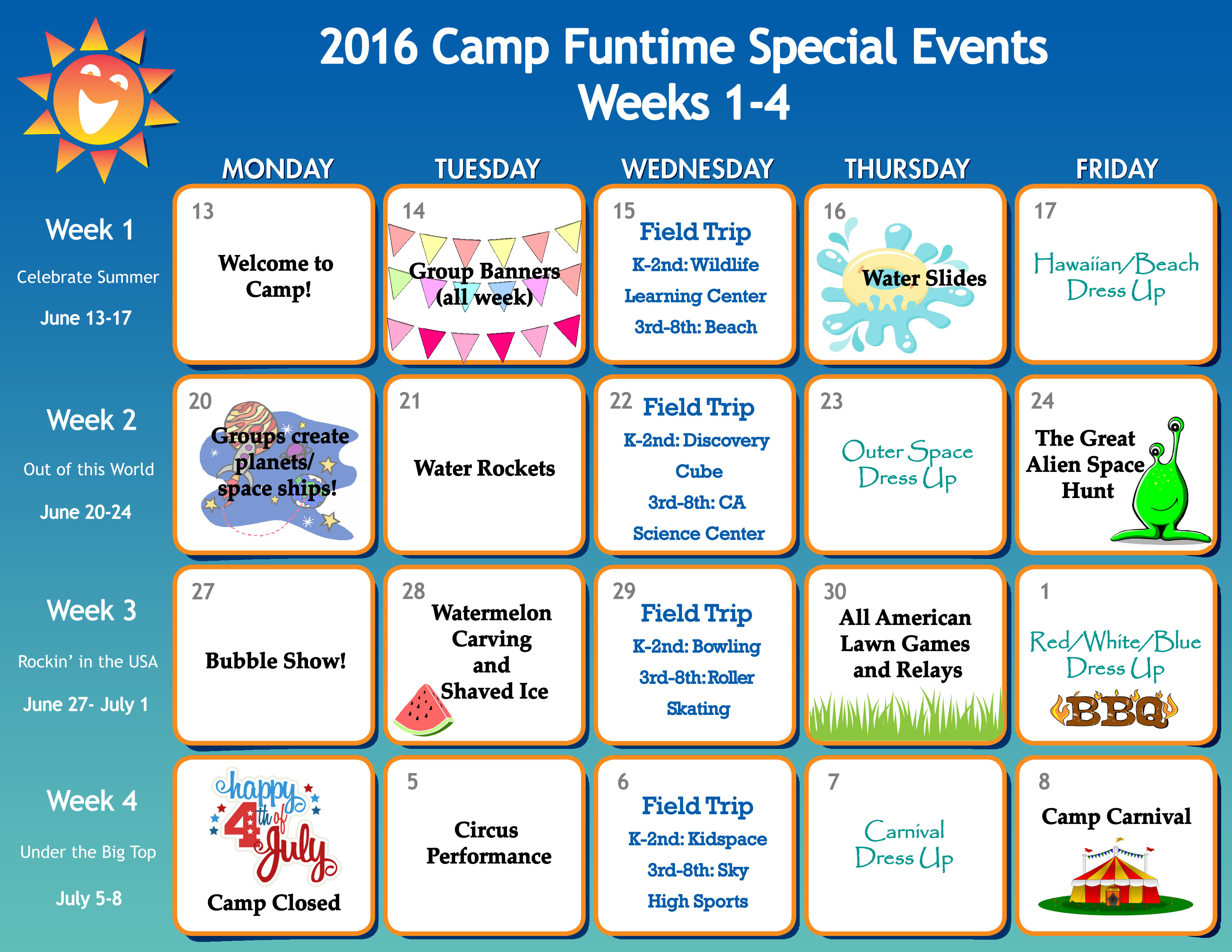 Monthly Calendar Events Special Days Celebrated : A summer of events in images ben s c